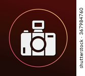 camera icon | Shutterstock .eps vector #367984760