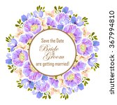 romantic invitation. wedding ... | Shutterstock .eps vector #367994810