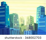 vector beautiful sunrise over... | Shutterstock .eps vector #368002703
