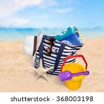 beach. | Shutterstock . vector #368003198