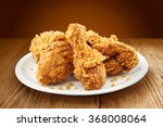 Crispy Kentucky Fried Chicken...