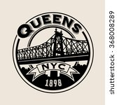 vintage t shirt sticker emblem... | Shutterstock .eps vector #368008289