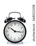 black metal retro alarm clock... | Shutterstock . vector #368022338