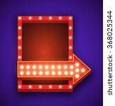 realistic 3d light background.... | Shutterstock .eps vector #368025344
