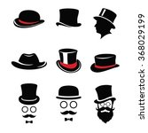 top hat pack | Shutterstock .eps vector #368029199