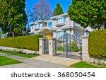 Custom Built House Behind The...