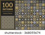 luxury patterns with geometric... | Shutterstock .eps vector #368055674