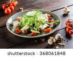 tasty salad | Shutterstock . vector #368061848