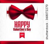 happy valentine's day glitter... | Shutterstock .eps vector #368072270