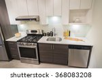 modern  bright  clean kitchen... | Shutterstock . vector #368083208