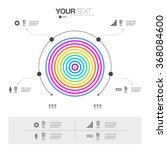 modern infographic design with...