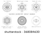 sacred geometry great bundle... | Shutterstock .eps vector #368084630