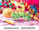 colorful party decoration on... | Shutterstock . vector #368108330