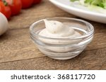 creamy onion dressing salad | Shutterstock . vector #368117720