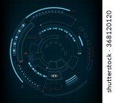 sci fi futuristic user... | Shutterstock .eps vector #368120120
