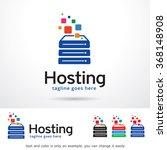 hosting logo template design...