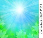 spring or summer background... | Shutterstock .eps vector #368149514