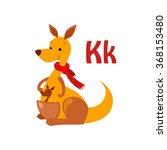 Kangaroo. Funny Alphabet ...