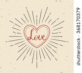 valentines day greeting card....   Shutterstock .eps vector #368170379