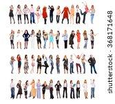 workforce concept teamwork... | Shutterstock . vector #368171648