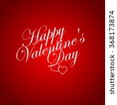valentines day vintage... | Shutterstock .eps vector #368173874