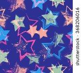abstract stars seamless pattern.... | Shutterstock .eps vector #368206016