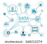 data security concept  data... | Shutterstock .eps vector #368212274