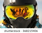 reflected in the glasses... | Shutterstock . vector #368215406