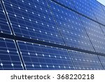 background of solar panels | Shutterstock . vector #368220218