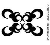 tribal tattoo vector design... | Shutterstock .eps vector #368222870