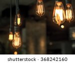 lighting decor | Shutterstock . vector #368242160