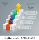 infographic design template can ... | Shutterstock .eps vector #368243690