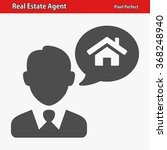 real estate agent icon.... | Shutterstock .eps vector #368248940