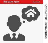 real estate agent icon.... | Shutterstock .eps vector #368248964