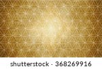 sacred geometry in flower... | Shutterstock . vector #368269916