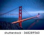 Golden Gate Bridge During Nigh...
