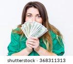 happy smiling businesswoman ...   Shutterstock . vector #368311313