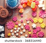 a variety of sweets to cook ... | Shutterstock . vector #368316440