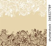 floral nature pattern card... | Shutterstock .eps vector #368327789