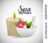 spa zone design  vector...   Shutterstock .eps vector #368334446