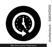 clock arrow | Shutterstock .eps vector #368345000