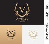 vector template of logo of... | Shutterstock .eps vector #368352404