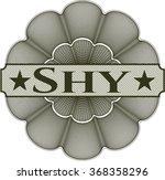 shy linear rosette   Shutterstock .eps vector #368358296