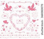 vintage decorative elements for ... | Shutterstock .eps vector #368383070