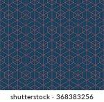seamless dark blue and burgundy ... | Shutterstock .eps vector #368383256