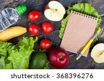 fresh organic vegetables and... | Shutterstock . vector #368396276