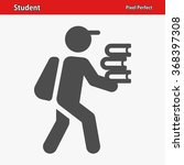 student icon. professional ... | Shutterstock .eps vector #368397308