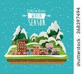 winter season design  | Shutterstock .eps vector #368397494