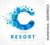 Letter C Logotype. Isolated...