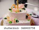 Wedding Cake. Background.